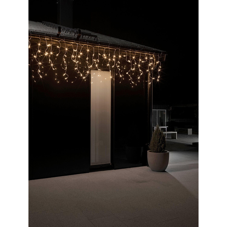 konstsmide led eisregen lichtervorhang 96 lichter. Black Bedroom Furniture Sets. Home Design Ideas