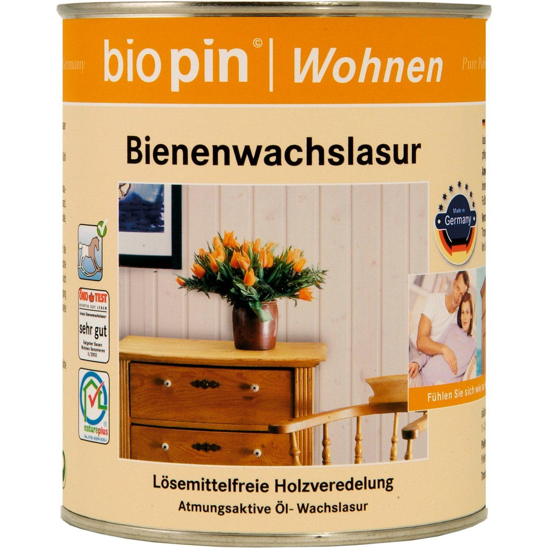 Biopin  Bienenwachslasur Kiefer 375 ml