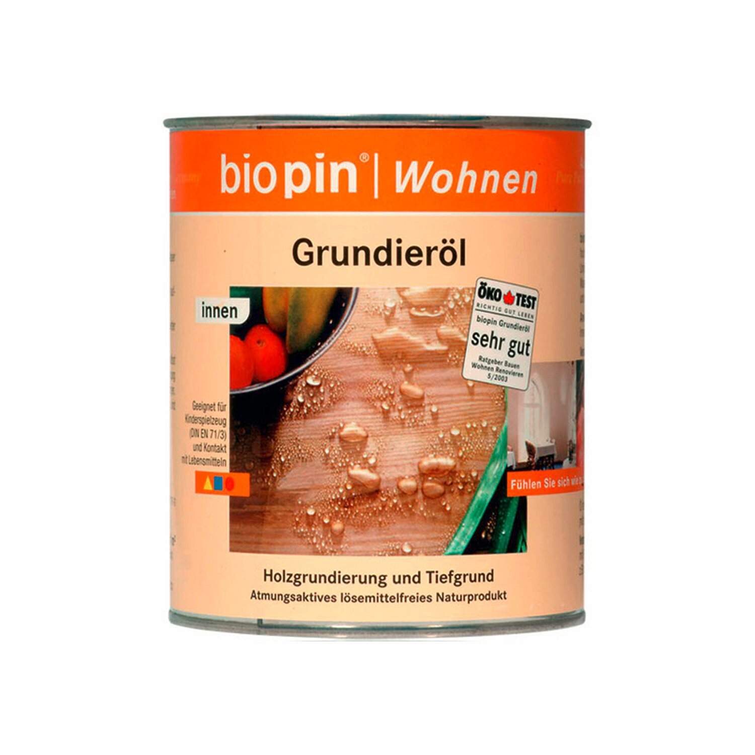 Biopin  Grundieröl Transparent 375 ml