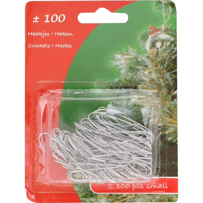 Weihnachtskugel aufh nger metall 100 st ck silber kaufen bei obi - Obi weihnachtskugeln ...