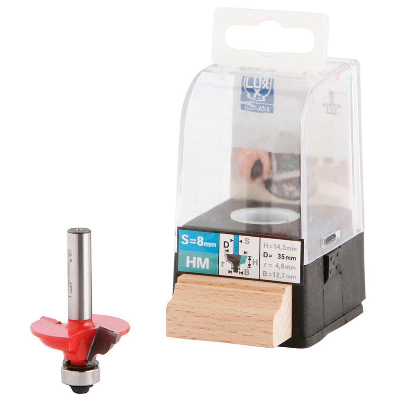 LUX HM-Doppelradienfräser 35 mm | Baumarkt > Werkzeug > Fräsen und Schleifer | LUX-TOOLS