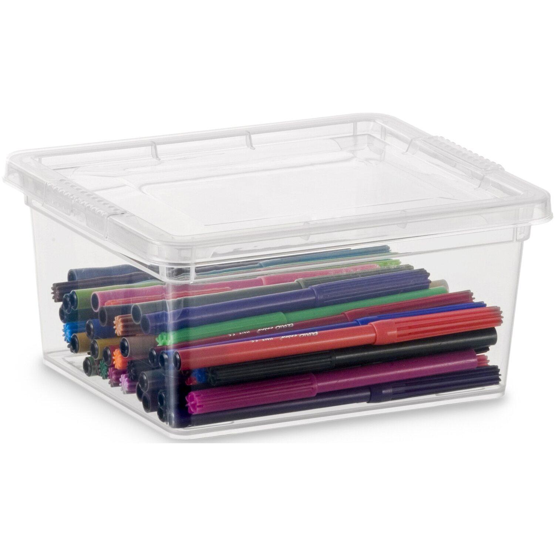 Aufbewahrungsbox C Xxs Mit Deckel Transparent Kaufen Bei Obi