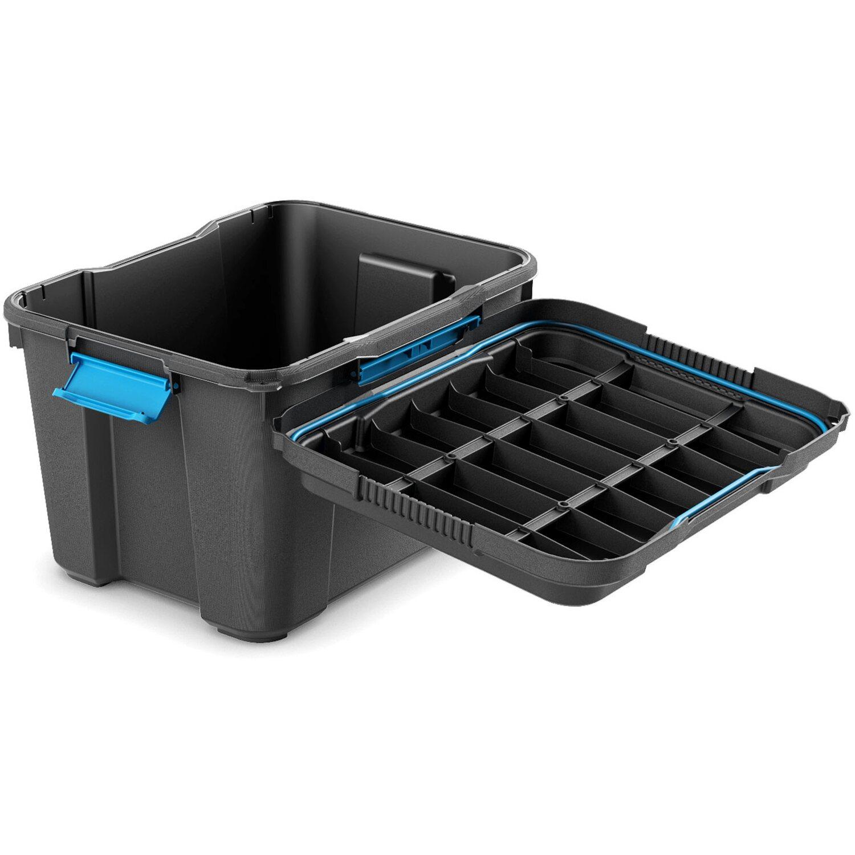 aufbewahrungsbox scuba m mit silikonring im deckel schwarz kaufen bei obi. Black Bedroom Furniture Sets. Home Design Ideas