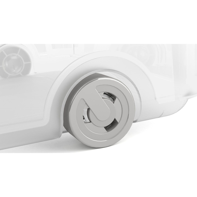 aufbewahrungsbox w l hoch mit deckel 4 rollen grau kaufen bei obi. Black Bedroom Furniture Sets. Home Design Ideas