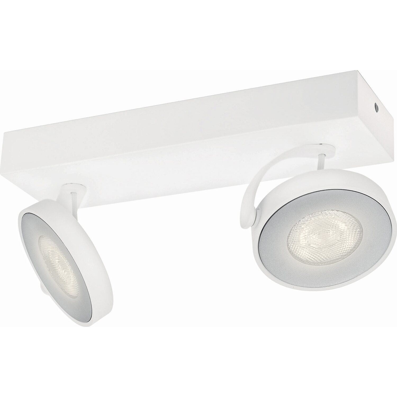 Philips myLiving LED-Spot 2er Clockwork Warmglo...