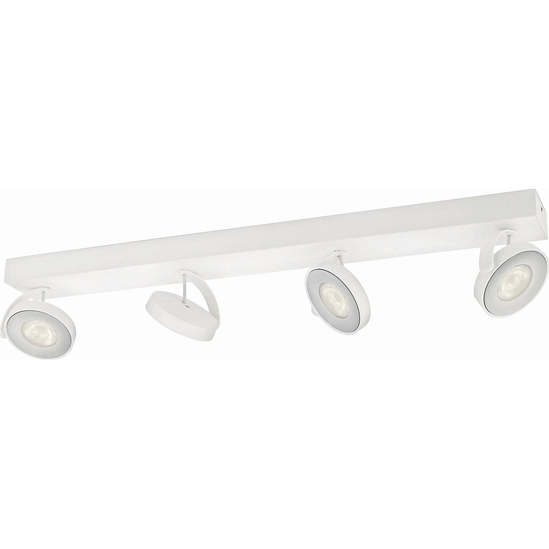 Philips myLiving LED-Spot 4er Clockwork Warmglo...