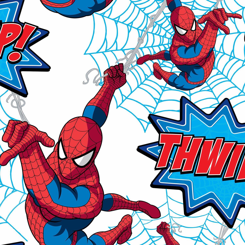 Graham brown tapetenmuster spider man thwipp blau rot for Tapetenmuster bestellen