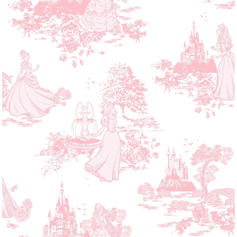 graham brown tapetenmuster prinzessinnen rosa - Tapeten Muster