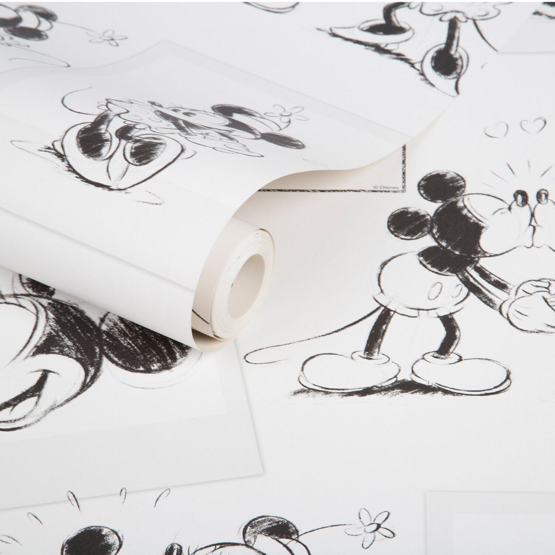 Graham brown tapetenmuster mickey und minnie skizzen for Tapetenmuster bestellen