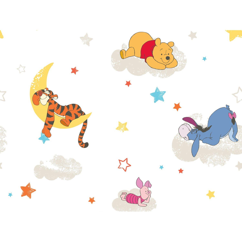 Graham & Brown Papiertapete Winnie Puuh schläft Mehrfarbig kaufen ...