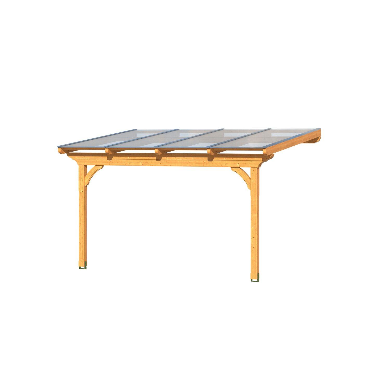 skan holz terrassenüberdachung ravenna 434 cm x 250 cm kaufen bei obi, Moderne