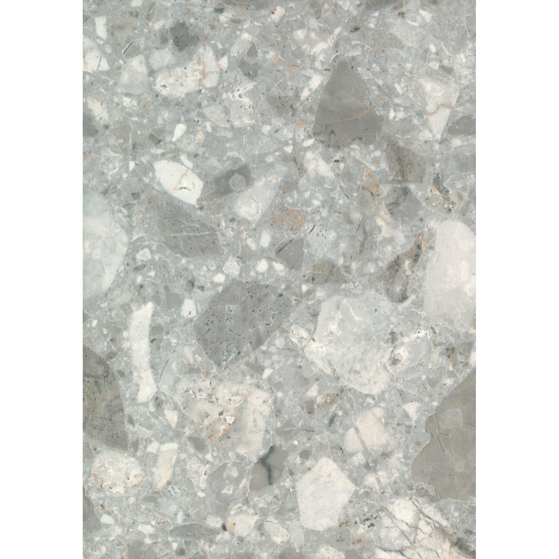 Extrem Arbeitsplatte 90 cm x 2,9 cm agglo marmor grau (AM429 PAT) kaufen AN03