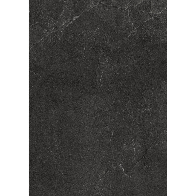 Arbeitsplatte 200 cm x 20,20 cm schwarzschiefer (SC20 PAT)