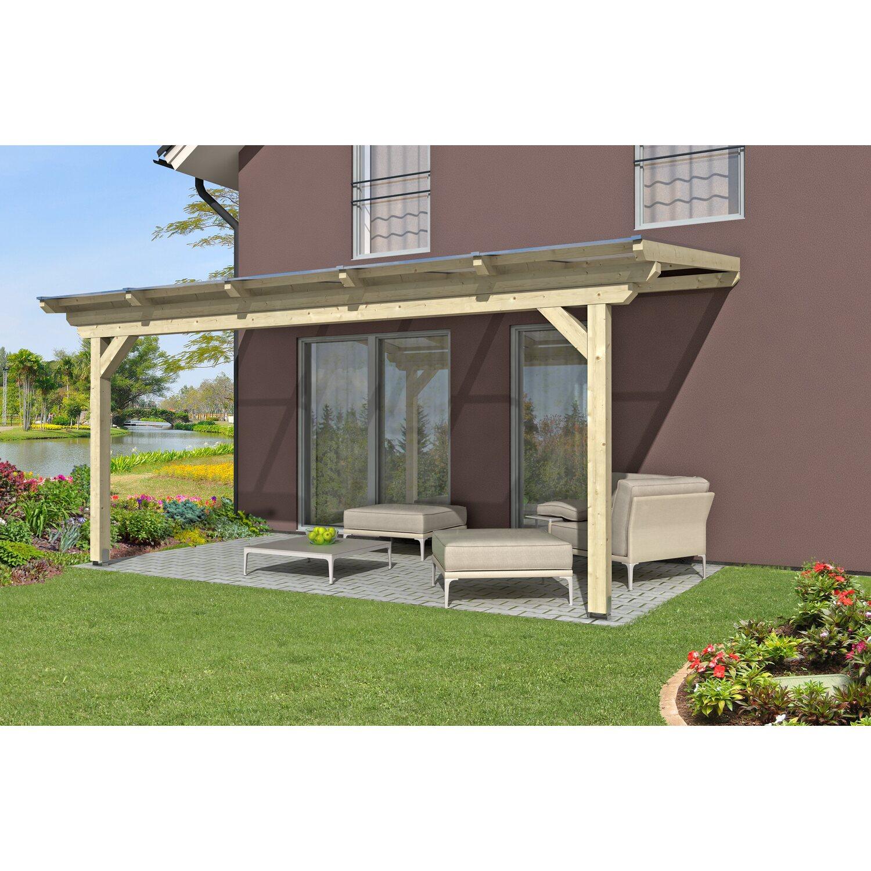 skan holz terrassen berdachung ancona 541 cm x 250 cm kaufen bei obi. Black Bedroom Furniture Sets. Home Design Ideas