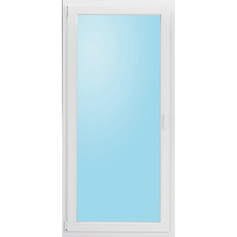 wohnraum kunststoff balkont r 3 fach glas uw 0 91 wei b 100x h 210cm anschlag l kaufen bei obi. Black Bedroom Furniture Sets. Home Design Ideas