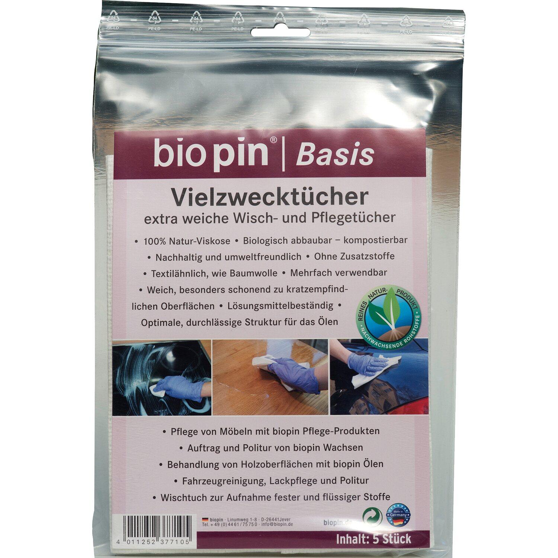 Biopin Vielzwecktuch 5 Stück