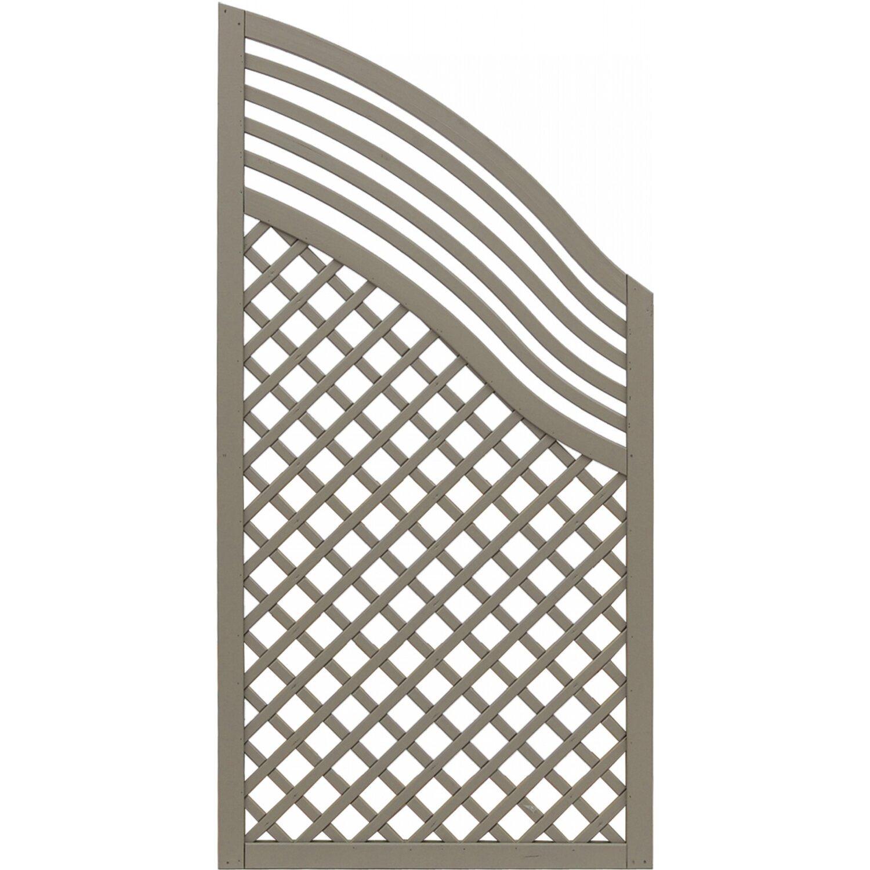 Andrewex Rankgitter Malaga Grau 180/195 cm x 90  cm