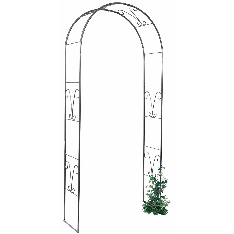 takasho rosenbogen nolina h 240 cm anthrazit metallic kaufen bei obi. Black Bedroom Furniture Sets. Home Design Ideas