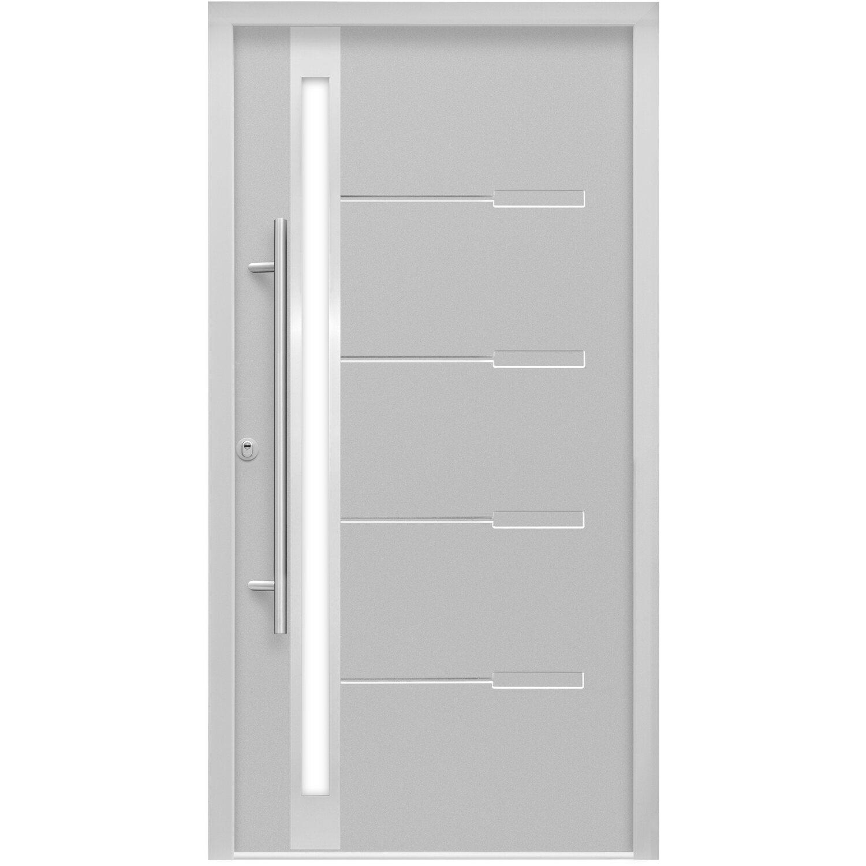sicherheits haust r thermospace neapel rc2 110 x 210 cm grau anschlag links kaufen bei obi. Black Bedroom Furniture Sets. Home Design Ideas