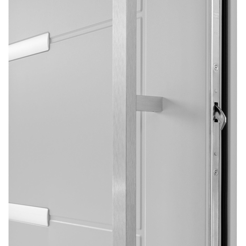 sicherheits haust r thermospace madrid rc2 110 x 210 cm grau anschlag links kaufen bei obi. Black Bedroom Furniture Sets. Home Design Ideas