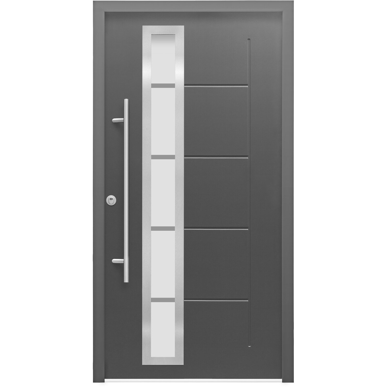 sicherheits haust r thermospace paris rc2 110 x 210 cm anthrazit anschlag links kaufen bei obi. Black Bedroom Furniture Sets. Home Design Ideas