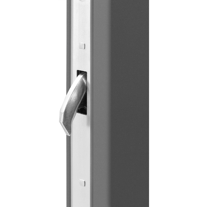 sicherheits haust r thermospace k ln rc2 110 x 210 cm anthrazit anschlag links kaufen bei obi. Black Bedroom Furniture Sets. Home Design Ideas