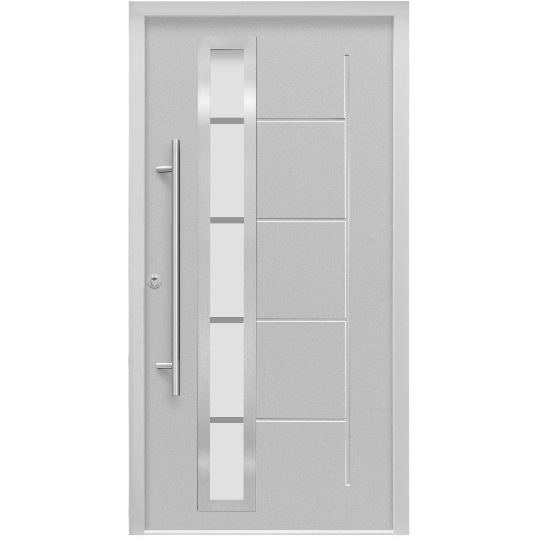 sicherheits haust r thermospace paris rc2 110 x 210 cm grau anschlag links kaufen bei obi. Black Bedroom Furniture Sets. Home Design Ideas