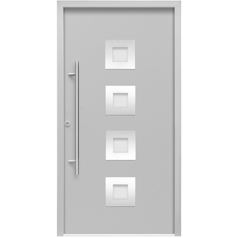 sicherheits haust r thermospace wien rc2 110 x 210 cm grau anschlag links kaufen bei obi. Black Bedroom Furniture Sets. Home Design Ideas