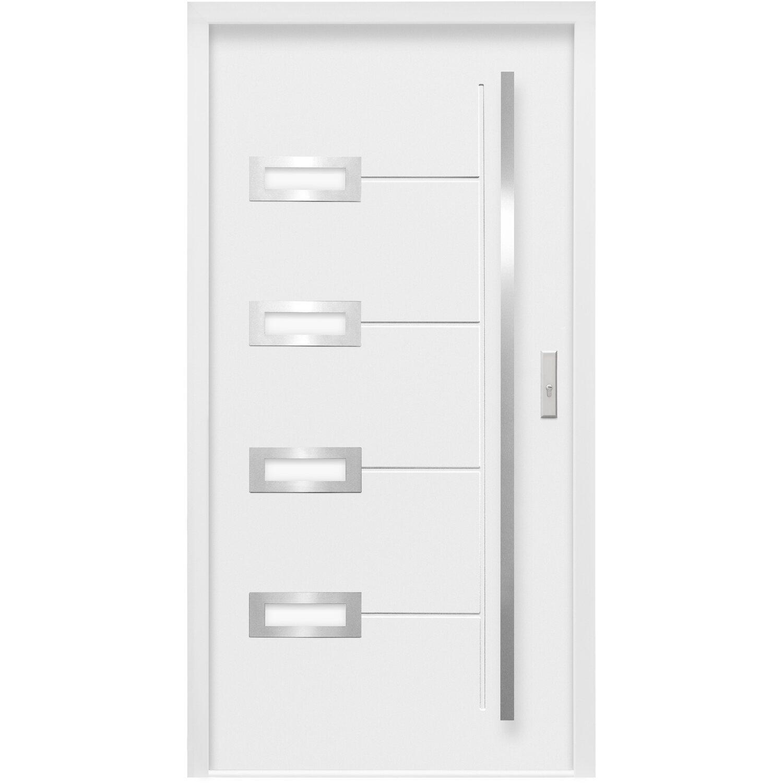 sicherheits haust r thermospace madrid rc2 110 x 210 cm wei anschlag rechts kaufen bei obi. Black Bedroom Furniture Sets. Home Design Ideas