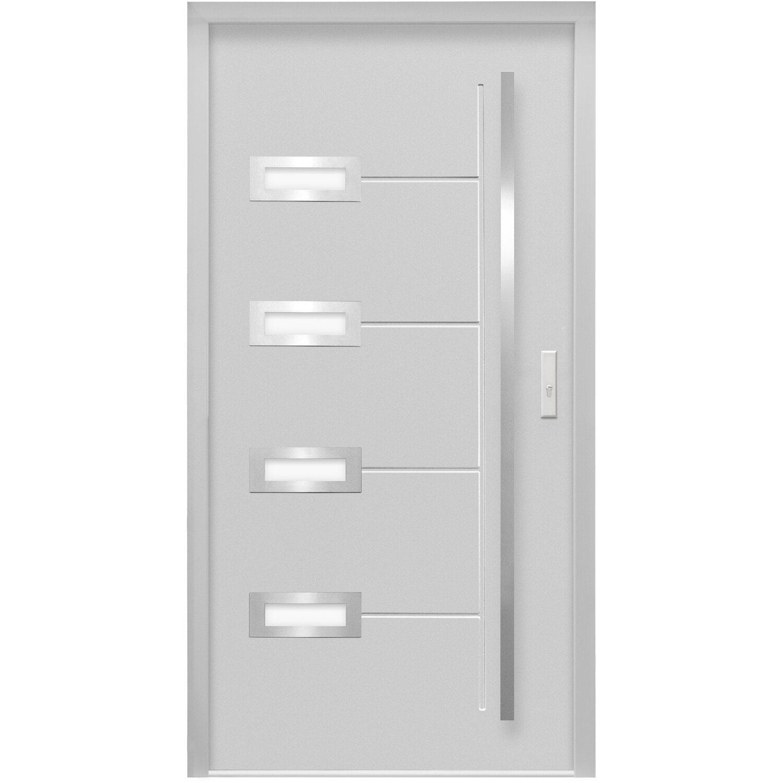 sicherheits haust r thermospace madrid rc2 110 x 210 cm grau anschlag rechts kaufen bei obi. Black Bedroom Furniture Sets. Home Design Ideas