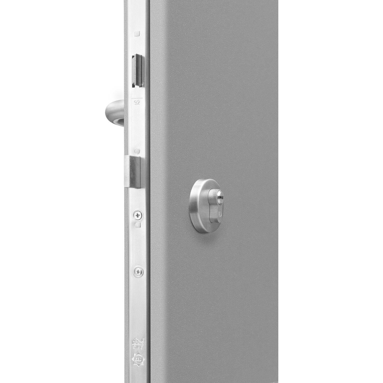 haust r thermospace madrid 110 x 210 cm grau anschlag rechts kaufen bei obi. Black Bedroom Furniture Sets. Home Design Ideas