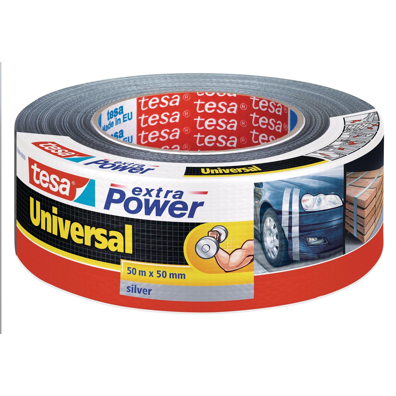 Tesa Extra Power Universal Silber 50 m x 50 mm