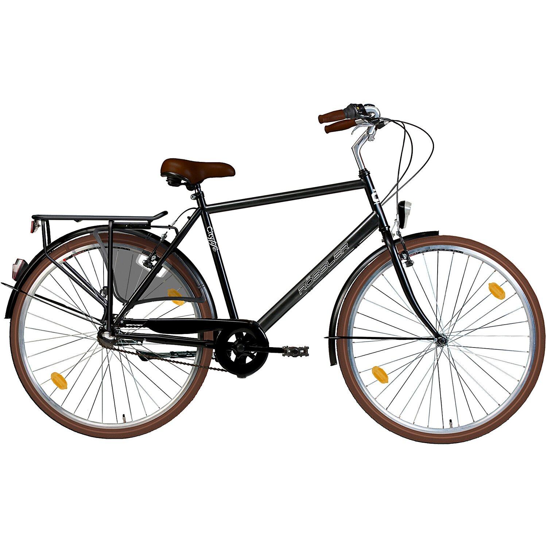 r ssler city fahrrad 3 gang shimano nexus 28 schwarz glanz kaufen bei obi. Black Bedroom Furniture Sets. Home Design Ideas