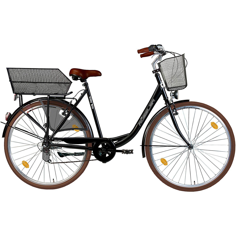 7b32d1ec06 Rössler City-Fahrrad 6-Gang Shimano 28