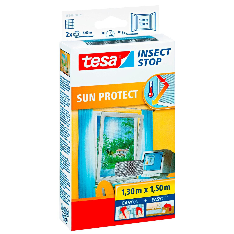 Tesa Fliegengitter Fenster Mit Sonnenschutz 150 Cm X 130 Cm Kaufen