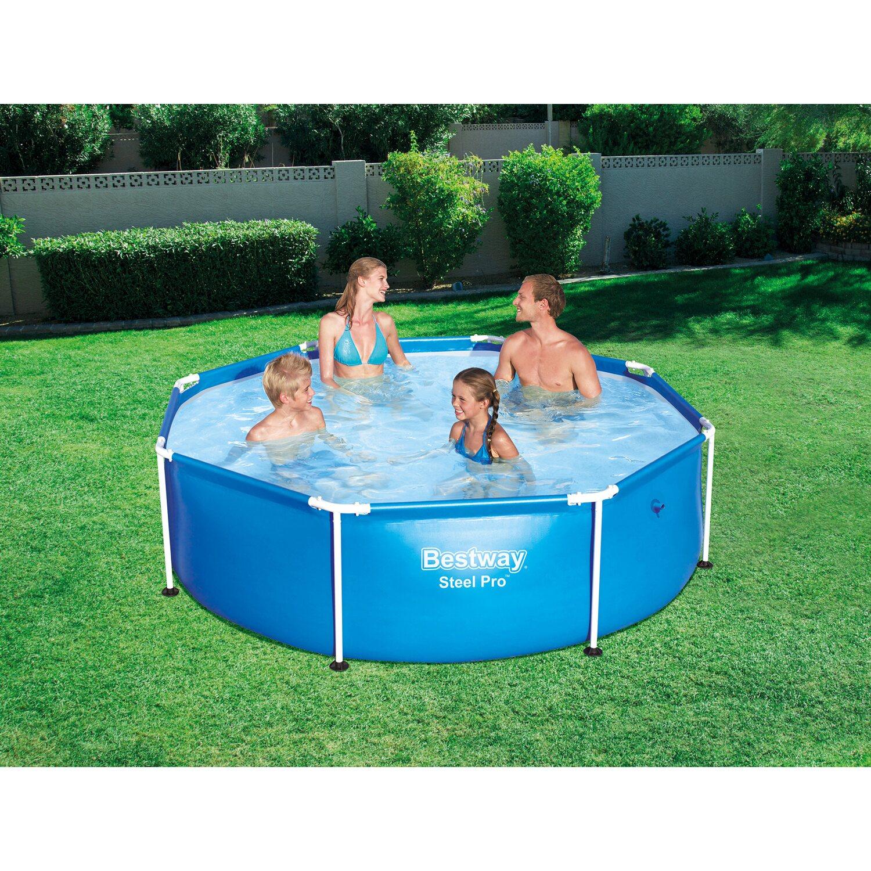 bestway pool steel pro frame 244 cm x 61 cm kaufen bei obi. Black Bedroom Furniture Sets. Home Design Ideas