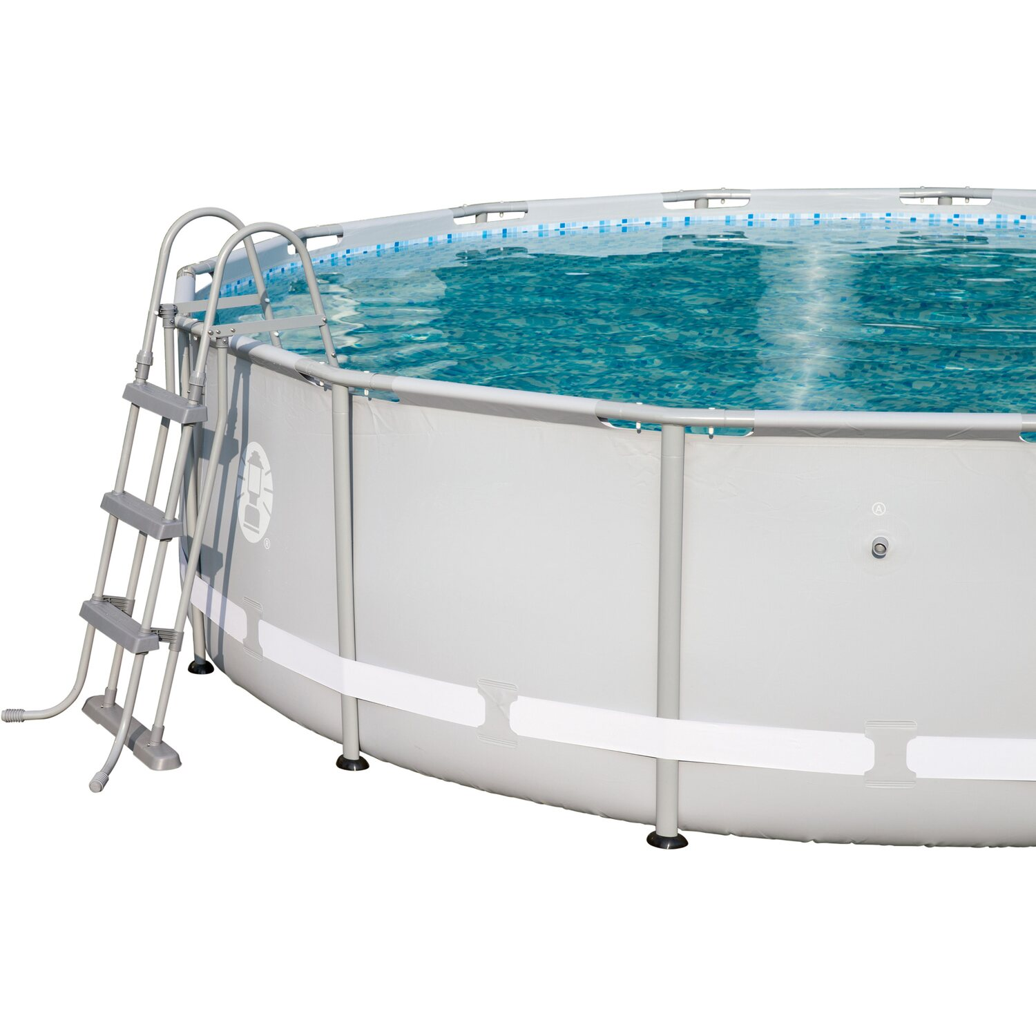 Bestway pool set power steel frame 427 cm x 107 cm mit for Bestway pool obi
