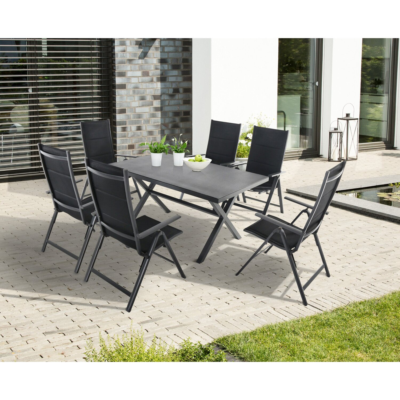 Greemotion Tisch Lissabon mit X-Rahmen 150 cm x 75 cm x 90 cm kaufen ...