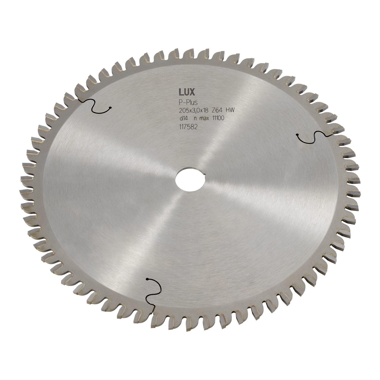 LUX-Tools HM-Kappsägeblatt 205 mm x 18 mm 64 Zähne