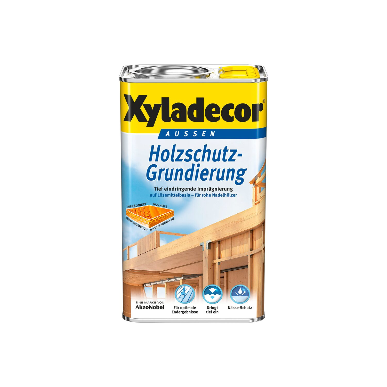 xyladecor holzschutz-grundierung transparent seidenmatt lh 750 ml