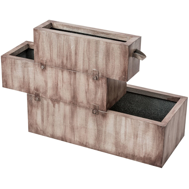 Brunnen quellstein miniteich obi rat for Obi paletten kaufen