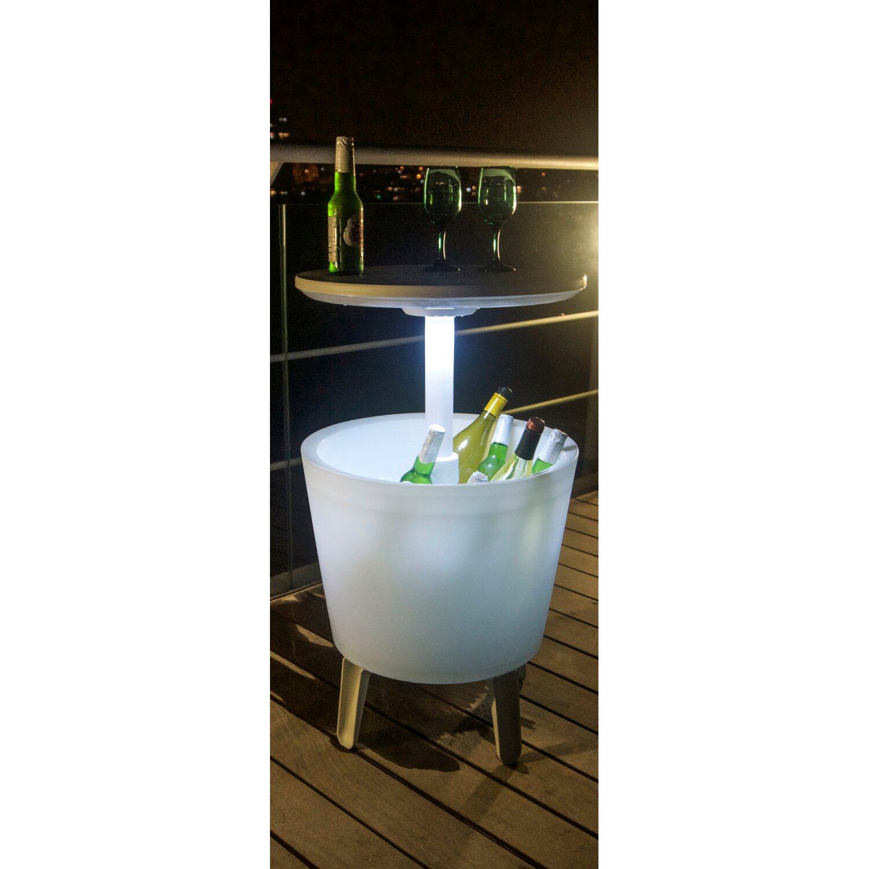Keter Partytisch Illuminated Cool Bar Weiß-Transparent kaufen bei OBI