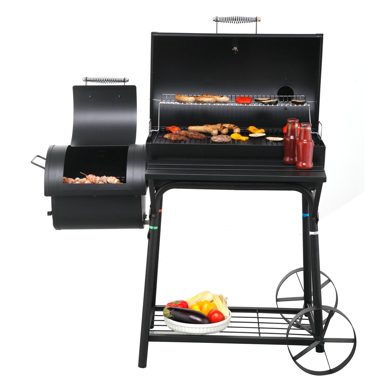 tepro holzkohle grill smoker biloxi mit seitlicher brennkammer kaufen bei obi. Black Bedroom Furniture Sets. Home Design Ideas