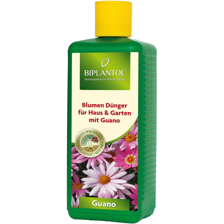 Biplantol Zierpflanzen- und Blumendünger Guano 1 l