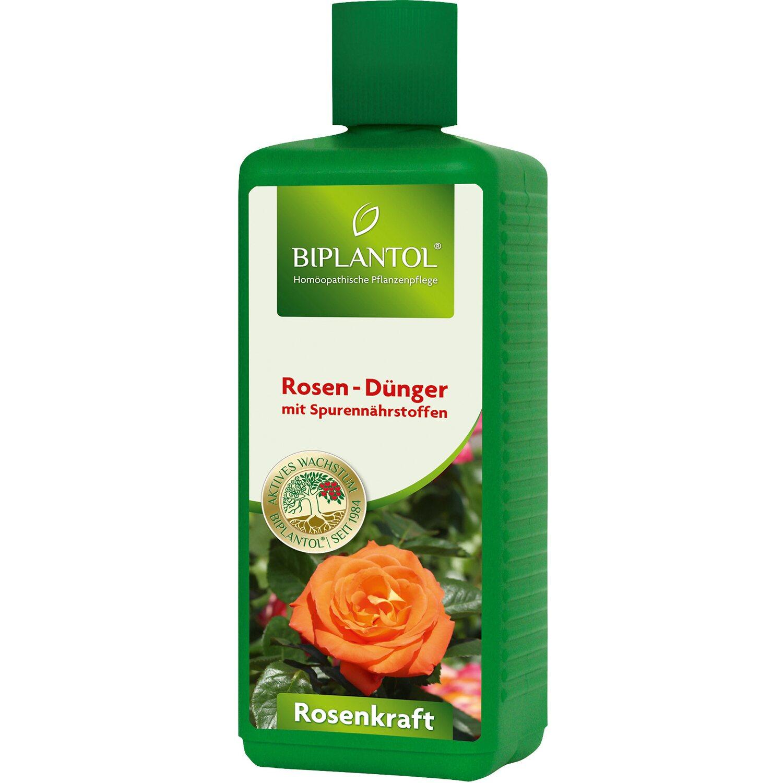Biplantol Spezial-Flüssigdünger Rosenkraft 1 l