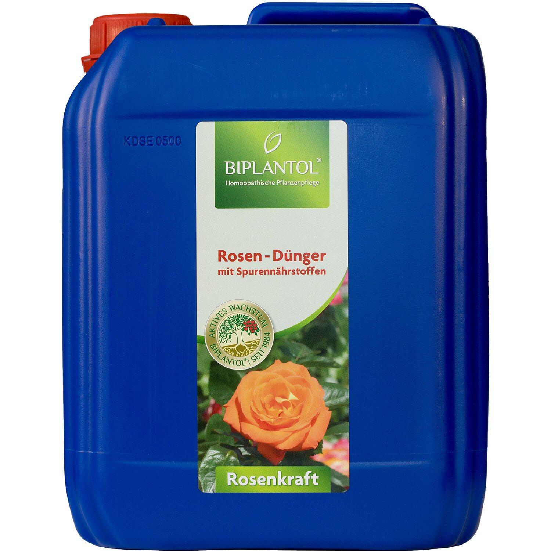 Biplantol Spezial-Flüssigdünger Rosenkraft 5 l