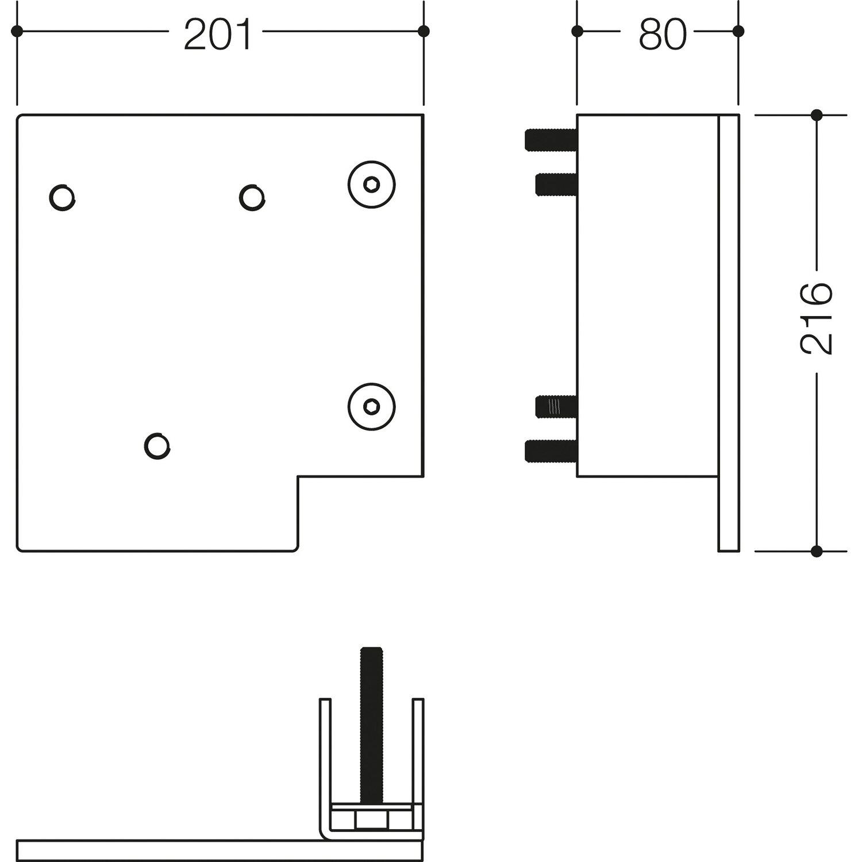 vorrüstung für griff serie 802 life system an vorwandinstallation s