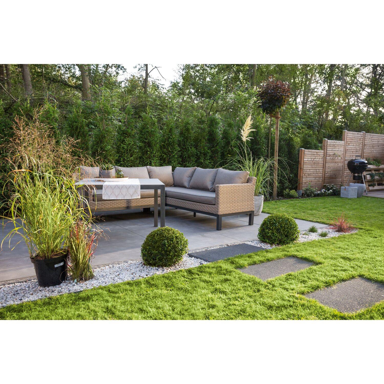 obi lounge gruppe brogan 5 tlg ash mit quadratischem. Black Bedroom Furniture Sets. Home Design Ideas