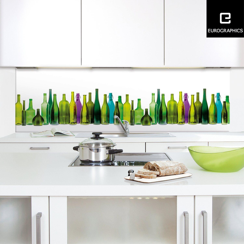 Häufig Eurographics Küchenrückwand Alu Coloured Bar 60 cm x 200 cm kaufen SW22