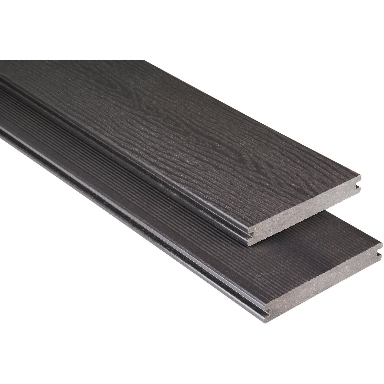 Wpc Platten Günstig : kovalex wpc terrassendiele mit struktur graubraun 2 cm x ~ A.2002-acura-tl-radio.info Haus und Dekorationen